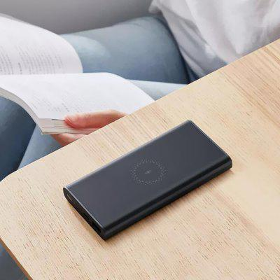 Xiaomi 10W Wireless Uscita 18W Ricarica Rapida Power Bank Portabile 10000mAh 2 Vie USB Caricabatterie Versione Youth