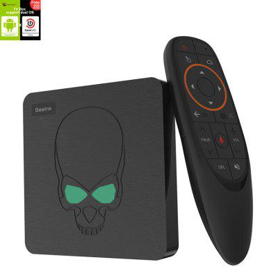 Beelink GT-King Android 9.0 en CoreELEC Linux Dual Operating System 4K TV Box