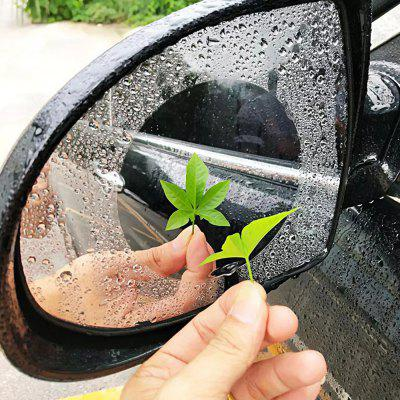 Universal Nano Coating Rainproof Car Rearview Mirror Anti-fog Film Waterproof Protective Sticker 2pcs