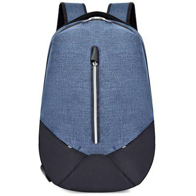 Men's Computer Backpack Simple Anti-theft USB Charging Interface
