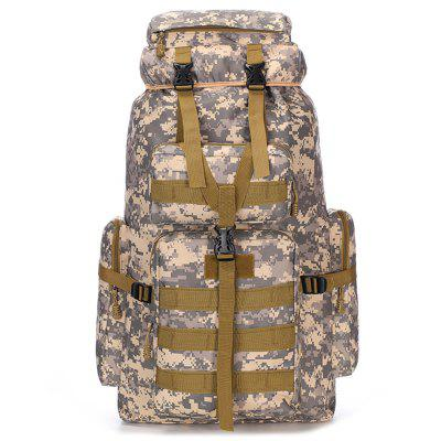 Men's Fashion Large Capacity Travel Backpack Outdoor Water-resistant Big Bag