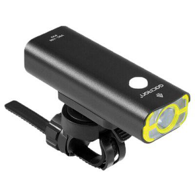 GACIRON V9C 400lm Bike Front Light Headlight 85 Degrees Floodlight Professional Riding Lamp with Rechargeable Battery
