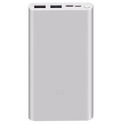 Xiaomi Batterie Externe 3 10000mAh 18W Charge Rapide Bidirectionnel USB Portable Version de Charge Rapide à 2-ports