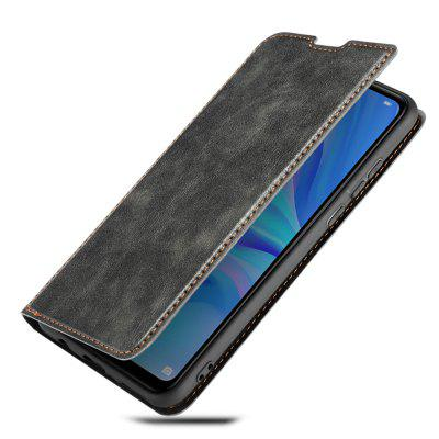 Retro 3-in-1 Ultra-thin Flip Phone Case PU Leather Protective Cover with Lanyard for HUAWEI P30 Lite