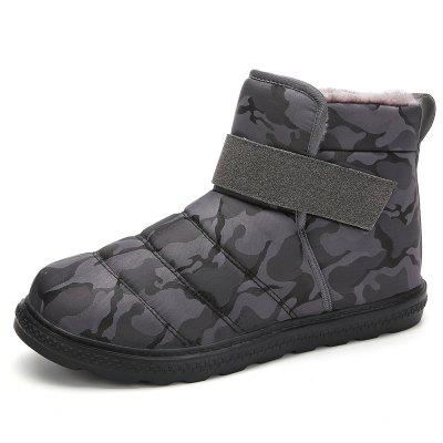 AILADUN męska Winter Snow Boots Plus Velvet usztywniany wysokie buty-top Outdoor Big Yards