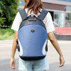 Men's Aluminum Handle Computer Backpack Anti-theft Design USB Charging Port Suitcase Interface - BLUE