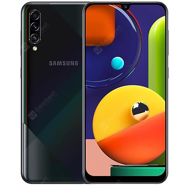 Samsung Galaxy A50s 4G Smartphone 6.4 inch Android 9.0 Exynos 9611 Octa Core 6GB RAM 128GB ROM 3 Rear Camera 4000mAh Battery Global Version