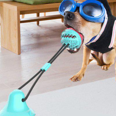 Dog Biting Tooth Grinding Pet Toy Leakage Food Ball Durable TPR Material