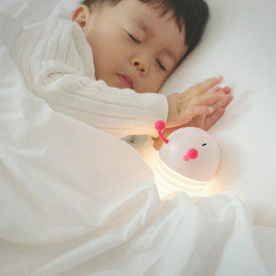 Caterpillar Retractable Night Light Creative Sleep bedlampje USB opladen Silicone schattige dieren Shape voor Kinderen Kamer