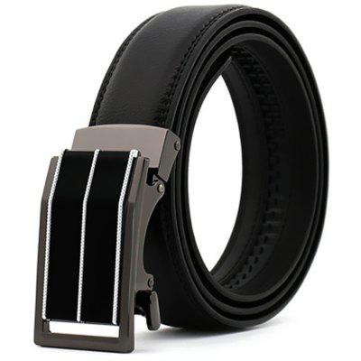Pánské Simple Automatic Buckle Business Casual Belt