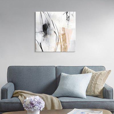Șapte Wall Arte PG748-A Modern Abstract cu jet de cerneală Canvas Pictura Home Decor Imprimare cu cadru de pin