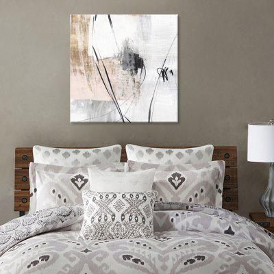 Șapte Wall Arte PG749-A Modern Abstract Arta cu jet de cerneală Canvas Pictura Home Decor Imprimare cu cadru de pin