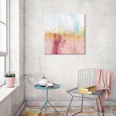 Șapte Wall Arte EZ270-roz Abstract panza Pictura Home Decor Imprimare cu cadru de pin