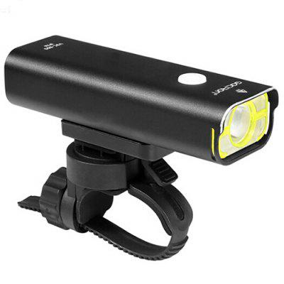 GACIRON V9C 800lm Bicycle Front Light Headlight 85 Degrees Floodlight Professional Bike Night Riding Lamp with Rechargeable Battery