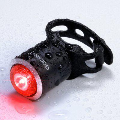 GACIRON W06 rowerów Smart Sensor 5lm LED Taillight High Brightness Flash USB Akumulator Bike Light Mini Portable Ciała
