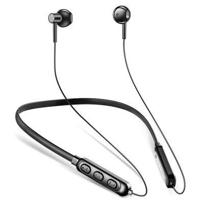 A10-C Bluetooth 5.0 Sports Earphones Neckband IPX5 Water-resistant Stereo Earbuds with Mic