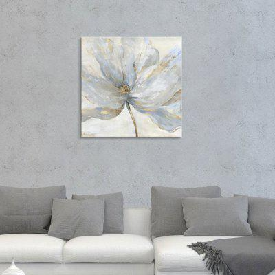 Șapte Wall Arte JN311-un gri-albastru Abstract Elegant model floral Pictura Home Decor Imprimare cu cadru de pin
