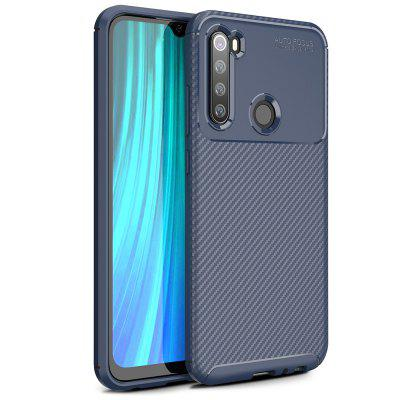 ASLING Beetle Series TPU Soft Shell Full Protective Back Cover Phone Case for Xiaomi Redmi Note 8