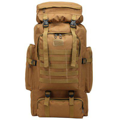 Fashion Camouflage 80L Large Capacity Backpack Outdoor Travel Water-resistant Bag