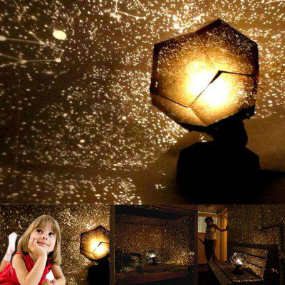 Wetenschap Sterrenhemel Projection Light Sleeping Lamp DIY Glowing Toy