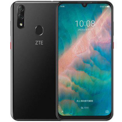 ZTE Blade V10 4G Smartphone 6,3 Zoll Android 9.0 Helio P70 Octa Core 4GB RAM 64GB ROM 2 Rückfahrkamera 3200mAh Batterie Globale Version