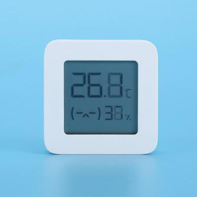 Xiaomi Mijia LYWSD03MMC Bluetooth 4.2 Household Thermometer Hygrometer Second Generation Wireless Smart Electric Digital Display Intelligent Linkage Baby Mode Work with Mijia APP
