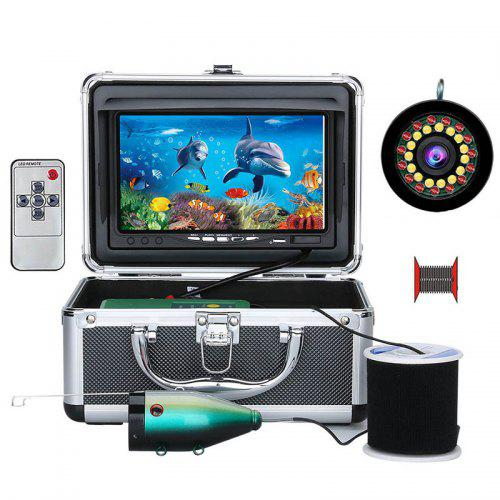 7 inch IPS Display Underwater Fish Finder Intelligent LED Light Visual Fishing Device Wide Viewing Angle with HD Camera