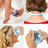 U-type Manual Mini Eye Massager Fingers Eyes Caring Instrument - DODGER BLUE