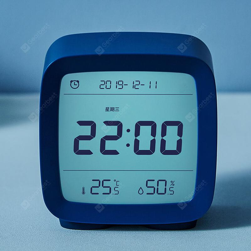 CGD1 Mini Multifunction 3-in-1 Bluetooth Alarm Clock Temperature / Humidity Monitor Night Light from Xiaomi youpin