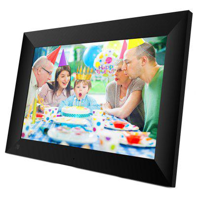 SCISHION P100 10 inch WiFi Digital Picture Frame 16GB de stocare 1280 x 800 IPS HD Touch Screen App Spune-le prietenilor