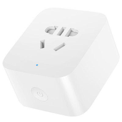 Xiaomi Mijia ZNCZ06CM Home Smart Socket Bluetooth Gateway Version Converter Intelligent Linkage WiFi Plug Switch Support APP Voice Control with Dual USB Ports