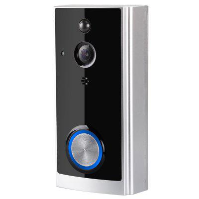 ZC-IP02S 1080P HD Wireless Video Doorbell Wide-angle Lens Door View Security Camera with Real-time Two-way Talk Night Vision PIR Motion Detection