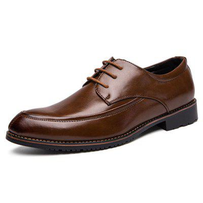 British Style Men's Shoes Large Size Lace-up Business