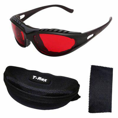 6039 Laser Engraved Protective Goggles Wavelength 180 - 590NM - Red