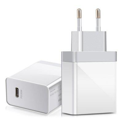 A3P PD3.0 30W High Power Mini Portable Charger for Smartphone Laptop Travel Charging EU Plug Adapter