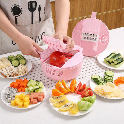 Household Kitchen 12 In 1 Multifunction Food Slicer