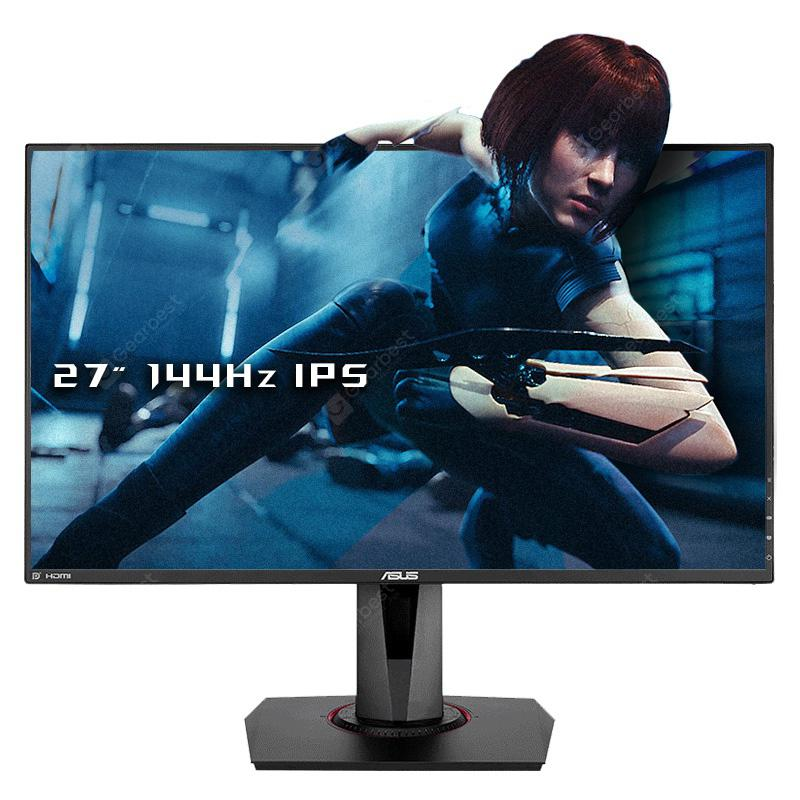 ASUS VG279Q 27 inch 144Hz High Refresh Rate IPS LCD Monitor - BLACK