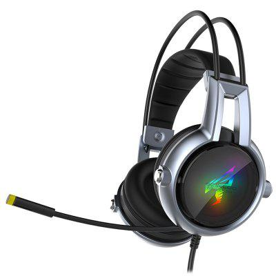 Somic E95-20th Gaming Headset Virtual 7.1 Stereo Surround Sound hoofdtelefoon met microfoon In-line controle LED Light voor pc computer