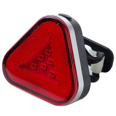 Mountain Bike USB Charging Taillight Rotatably COB Warning Light