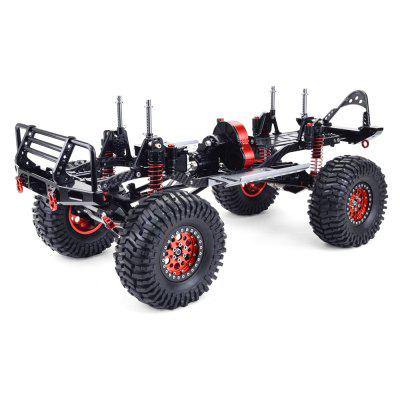 ZD Racing Full Metal Aluminum Carbon 1/10 4WD Crawler Portal Axle Semi-Assembled Frame for AXIAL SCX10 RC Car