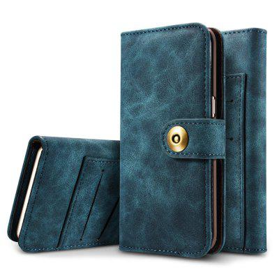 Retro 3-in-1 Staccabile PU Pelle Custodia di Cellulare con Fessure per iPhone 6 Plus