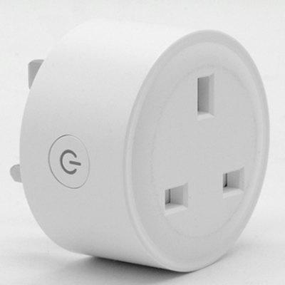 XD188 Smart Home Plug Mini WiFi Socket APP Controle Werkt met Alexa en Google Assistant