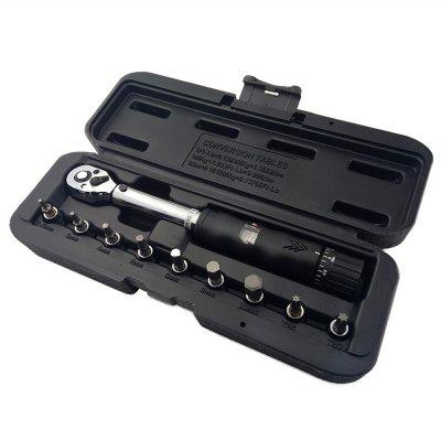 1/4 Chrome Vanadium Steel Window Adjustable Torque Wrench 10pcs