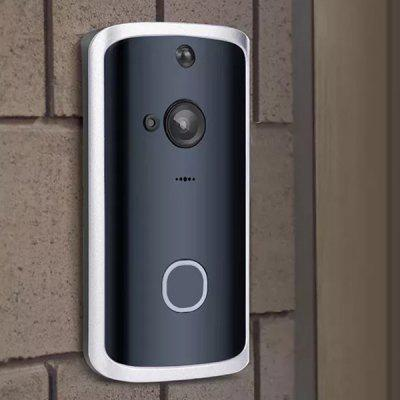 M12 720P HD Wireless Video Doorbell Wide-angle Lens Door View Security Camera with Real-time 2-Way Talk, Night Vision, PIR Motion Detection