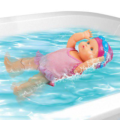 Electric Swimming Doll Art Cute Baby Home Decoration Holiday Birthday Gift Kids Water Bathtub Toy