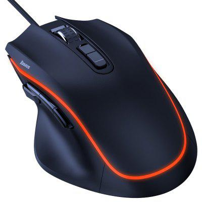 Baseus GAMO (GM01) 9 programmeerbare knoppen Wired Gaming Mouse (Xiaomi Ecosystem product)