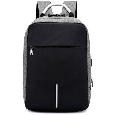 Men's Fashion Large Capacity Backpack Durable Large Capacity Computer Bag with Durable Handle