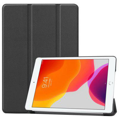 Tri-składane Tablet Etui PU Leather Osłona Inteligentne obudzić Case for iPad 2019 10,2 cala