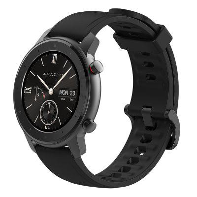 Refurbished Amazfit GTR Lite 47mm Smartwatch 24 Days Battery Life 5ATM Waterproof Ceramics Bezel AMOLED Screen 8 Sports Modes International Version ( Xiaomi Ecosystem Product )