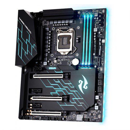 Soyo SY-ZEUS Z390 ESPORT Motherboard with Form Factor Full ATX...